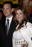 Tom Hanks and Rita Wilson. 12/10/2007 - Hollywood - Tom Hanks and Rita Wilson attend the World Premiere of `Charlie Wilson`s War` held at the Universal Studios Stock Photo