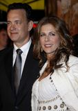 Tom Hanks and Rita Wilson. At the Los Angeles premiere of `Charlie Wilson`s War` held at the CityWalk Cinemas in Universal City, USA on December 10, 2007 Stock Photo