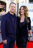 Tom Hanks and Rita Wilson Stock Images