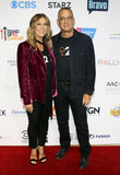 Tom Hanks and Rita Wilson. At the 5th Biennial Stand Up To Cancer held at the Walt Disney Concert Hall in Los Angeles, USA on September 9, 2016 Stock Photography
