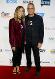 Tom Hanks and Rita Wilson. At the 5th Biennial Stand Up To Cancer held at the Walt Disney Concert Hall in Los Angeles, USA on September 9, 2016 Stock Images