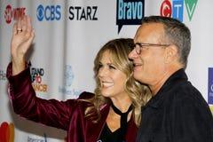 Tom Hanks and Rita Wilson Royalty Free Stock Photo