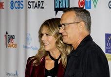 Tom Hanks and Rita Wilson Stock Photo