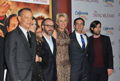 Tom Hanks u. Paul Giamatti u. Emma Thompson u. BJ Novak u. Jason Schwartzman Stockfotos