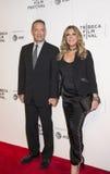 Tom Hanks und Rita Wilson an der Tribeca-Film-Festival-Premiere 2017 von ` das Kreis ` lizenzfreies stockbild
