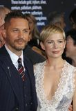 Tom Hardy and Michelle Williams royalty free stock images
