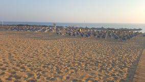Tom havs- och strandbakgrund Royaltyfri Fotografi