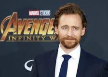Tom Hiddleston stock afbeelding