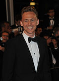 Tom Hiddleston. CANNES, FRANCE - MAY 25, 2013: Tom Hiddleston at gala premiere at the 66th Festival de Cannes for his movie Only Lovers Left Alive Stock Image