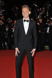 Tom Hiddleston. CANNES, FRANCE - MAY 25, 2013: Tom Hiddleston at gala premiere at the 66th Festival de Cannes for his movie Only Lovers Left Alive Royalty Free Stock Photography