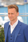 Tom Hiddleston. CANNES, FRANCE - MAY 25, 2013: Tom Hiddleston at photocall at the 66th Festival de Cannes for his movie Only Lovers Left Alive Royalty Free Stock Photos