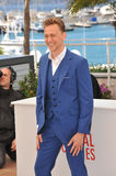 Tom Hiddleston. CANNES, FRANCE - MAY 25, 2013: Tom Hiddleston at photocall at the 66th Festival de Cannes for his movie Only Lovers Left Alive Royalty Free Stock Photography