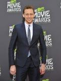 Tom Hiddleston. LOS ANGELES, CA - APRIL 14, 2013: Tom Hiddleston at the 2013 MTV Movie Awards at Sony Studios, Culver City Stock Photography