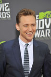 Tom Hiddleston. LOS ANGELES, CA - APRIL 14, 2013: Tom Hiddleston at the 2013 MTV Movie Awards at Sony Studios, Culver City Stock Images
