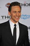 Tom Hiddleston. LOS ANGELES, CA - NOVEMBER 4, 2013: Tom Hiddleston at the US premiere of his movie Thor: The Dark World at the El Capitan Theatre, Hollywood Stock Photography