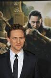 Tom Hiddleston. LOS ANGELES, CA - NOVEMBER 4, 2013: Tom Hiddleston at the US premiere of his movie Thor: The Dark World at the El Capitan Theatre, Hollywood Stock Photo