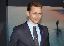 Tom Hiddleston. At the Los Angeles premiere of `Kong: Skull Island` held at the El Capitan Theatre in Hollywood, USA on March 8, 2017 Royalty Free Stock Photos