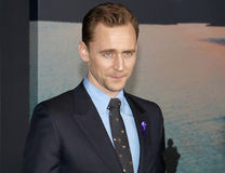 Tom Hiddleston. At the Los Angeles premiere of `Kong: Skull Island` held at the El Capitan Theatre in Hollywood, USA on March 8, 2017 Stock Photos