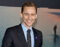 Tom Hiddleston. At the Los Angeles premiere of `Kong: Skull Island` held at the El Capitan Theatre in Hollywood, USA on March 8, 2017 Royalty Free Stock Image