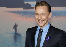 Tom Hiddleston. At the Los Angeles premiere of `Kong: Skull Island` held at the El Capitan Theatre in Hollywood, USA on March 8, 2017 Royalty Free Stock Photography