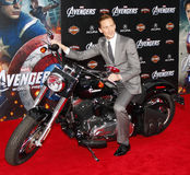 Tom Hiddleston. At the Los Angeles premiere of 'Marvel's The Avengers' held at the El Capitan Theatre in Los Angeles on April 11, 2012 Royalty Free Stock Photography
