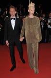 Tom Hiddleston & Tilda Swinton Royalty Free Stock Photo