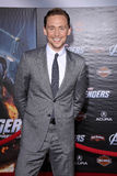 Tom Hiddleston,Tom Hiddlestone. Tom Hiddleston  at the Marvel's The Avengers Los Angeles Premiere, El Capitan Theatre, Hollywood, CA 04-11-12 Stock Image