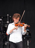 Tom Hobden, violinist, of Noah and the Whale Royalty Free Stock Images
