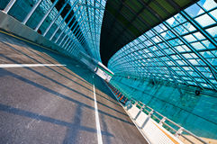 Tom huvudväg Royaltyfria Bilder