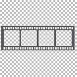 Tom illustration för materiel för filmram Bild av ramfilmvektorn Fotografering för Bildbyråer