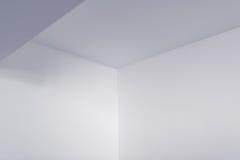 Tom inre detalj för vitt rum Royaltyfri Fotografi