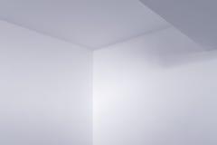 Tom inre detalj för vitt rum Royaltyfri Foto