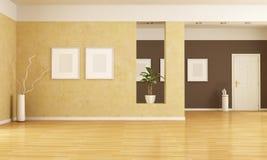 tom interior Fotografering för Bildbyråer