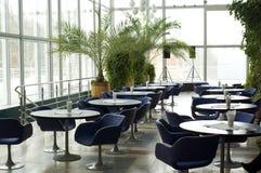 tom interior för cafe royaltyfri bild