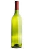 tom isolerad wine för flaska Arkivbilder
