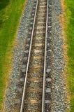 tom järnväg 2 Royaltyfria Bilder