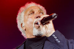 Tom Jones Arkivfoto
