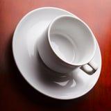 tom kaffekopp Arkivfoto