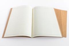 Tom katalog, tidskrift, bokmall med mjuka skuggor klart Arkivfoto