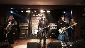 Tom Keifer at Hard Rock Cafe Stock Photography