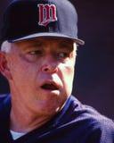Tom Kelly Minnesota Twins Manager Imagen de archivo libre de regalías