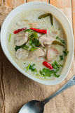 Tom Kha Gai Stock Photography