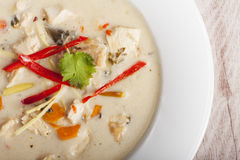 tom kha gai soup Royalty Free Stock Photos