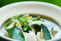 Tom Kha Kai Stock Photography