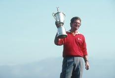Tom Kite; 1992 US Open winner. Tom Kite winner of the 1992 US Open.  (Image taken from color slide Royalty Free Stock Photo