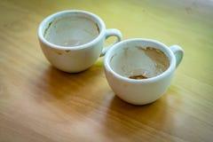 Tom kopp för ` s för vitt kaffe Royaltyfri Bild