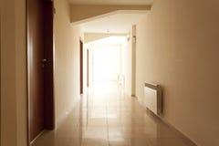 tom korridor Royaltyfria Foton