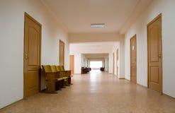 tom korridor arkivbild