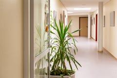 tom korridor royaltyfria bilder