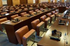 tom korridor för konferens royaltyfri bild